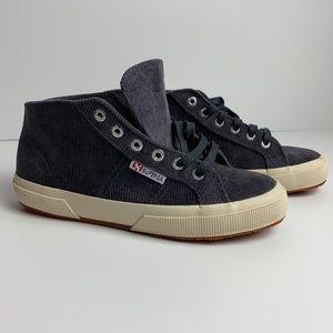 NWT Superga | Gray Corduroy Fantasia Shoes Sz 7.5